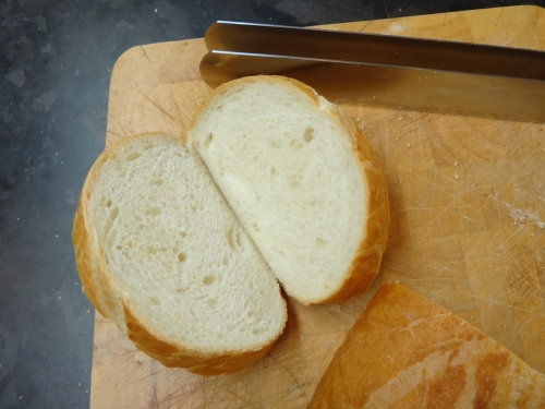 The Ultimate Sandwich Vessel.  Created using the Patent Pending Sandwich Knife
